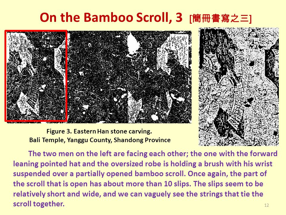 On the Bamboo Scroll, 3 [簡冊書寫之三]